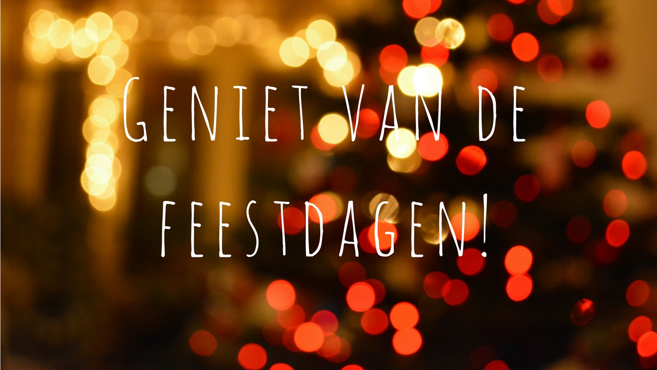 Prettige feestdagen en een gelukkig nieuwjaar!!🎄🎆🍾